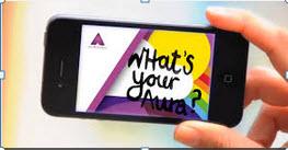 Phone with Aurasma app
