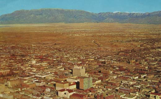 Air View of Albuquerque, New Mexico