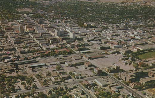 Aerial View of the City of Albuquerque, New Mexico