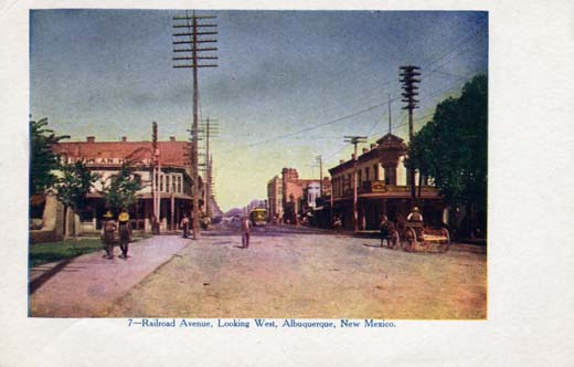 Railroad Avenue, Looking West