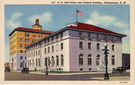 US Post Office and Federal Building, Albuquerque, NM