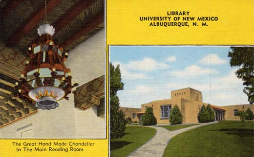 Library, University of New Mexico, Albuquerque, N.M.