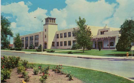 Mitchell Hall, University of New Mexico, Albq., N.M