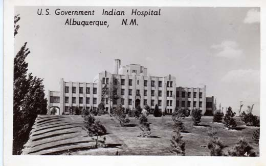 U.S. Government Indian Hospital Albuquerque, N.M.