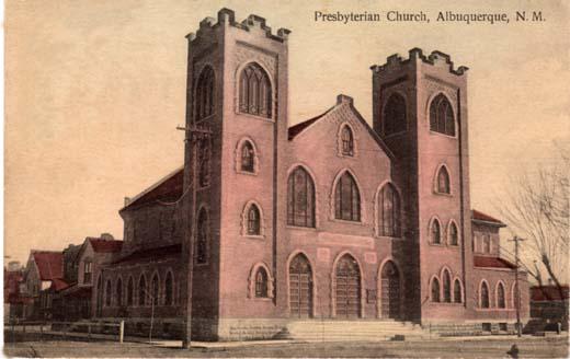 Presbyterian Church, Albuquerque, N. M.