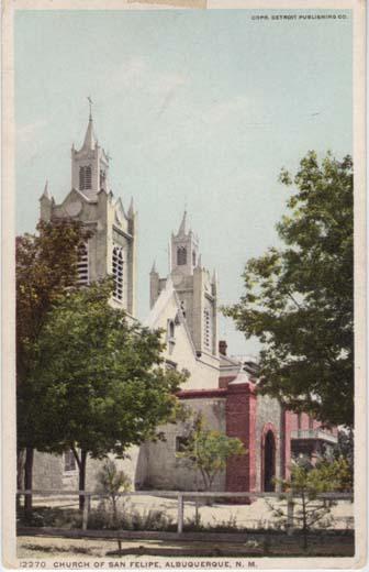 Church of San Felipe, Albuquerque, N. M.