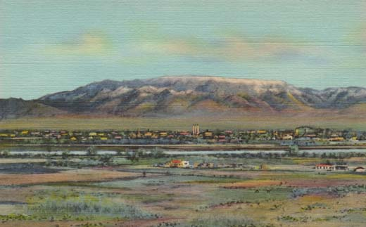 Sandia Mountains, Albuquerque, N. M.