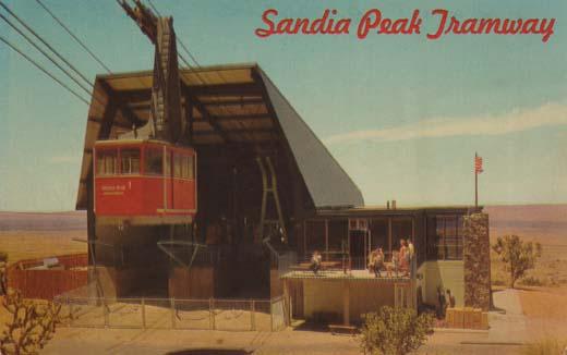 Sandia Peak Aerial Tramway, Albuquerque, New Mexico