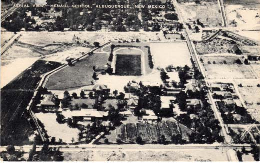 Aerial View—Menaul School, Albuquerque, New Mexico