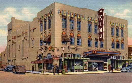 Kimo, America's Foremost Indian Theatre, Albuquerque, New Mexico