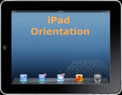 iPad Orientation