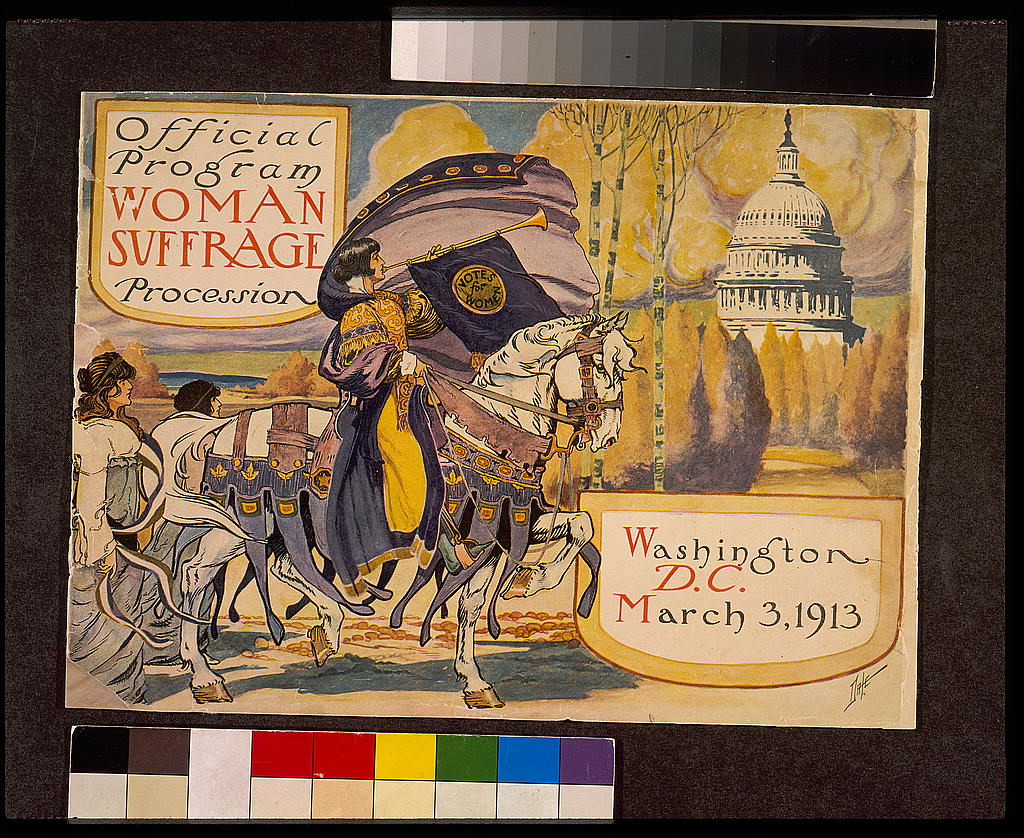 Sample Image from American Women's Suffrage Movement