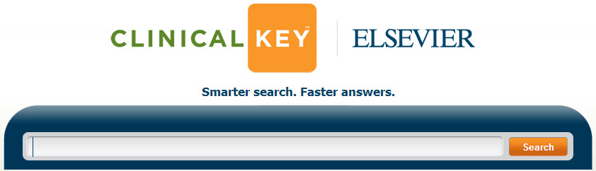 Image of ClinicalKey search box