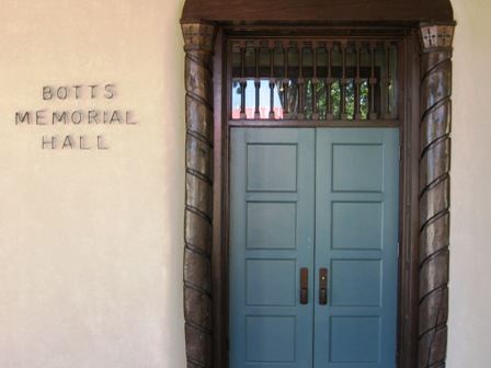 Botts Hall exterior