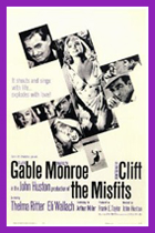 Original 'The MIsfits' film poster