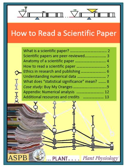 link to How to read a scientific paper