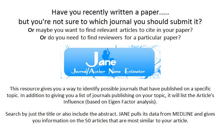 Journal Author Name Estimator logo
