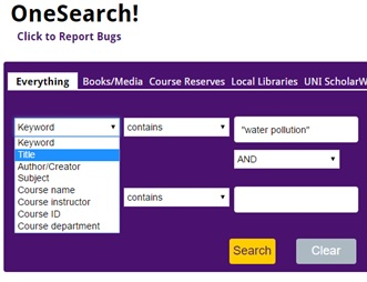 onesearch-example