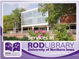 Rod Library Tour - PowerPoint