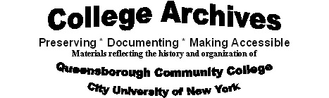 logo for the college archives