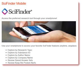 scifinder mobile