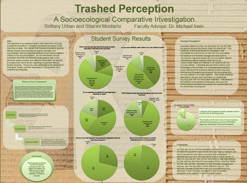 Trashed Perception
