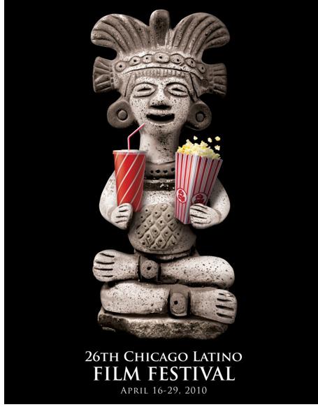 26th Chicago Latino film festival poster