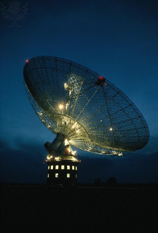 Radio telescope Parkes New South Wales