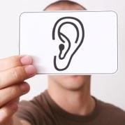image: listening