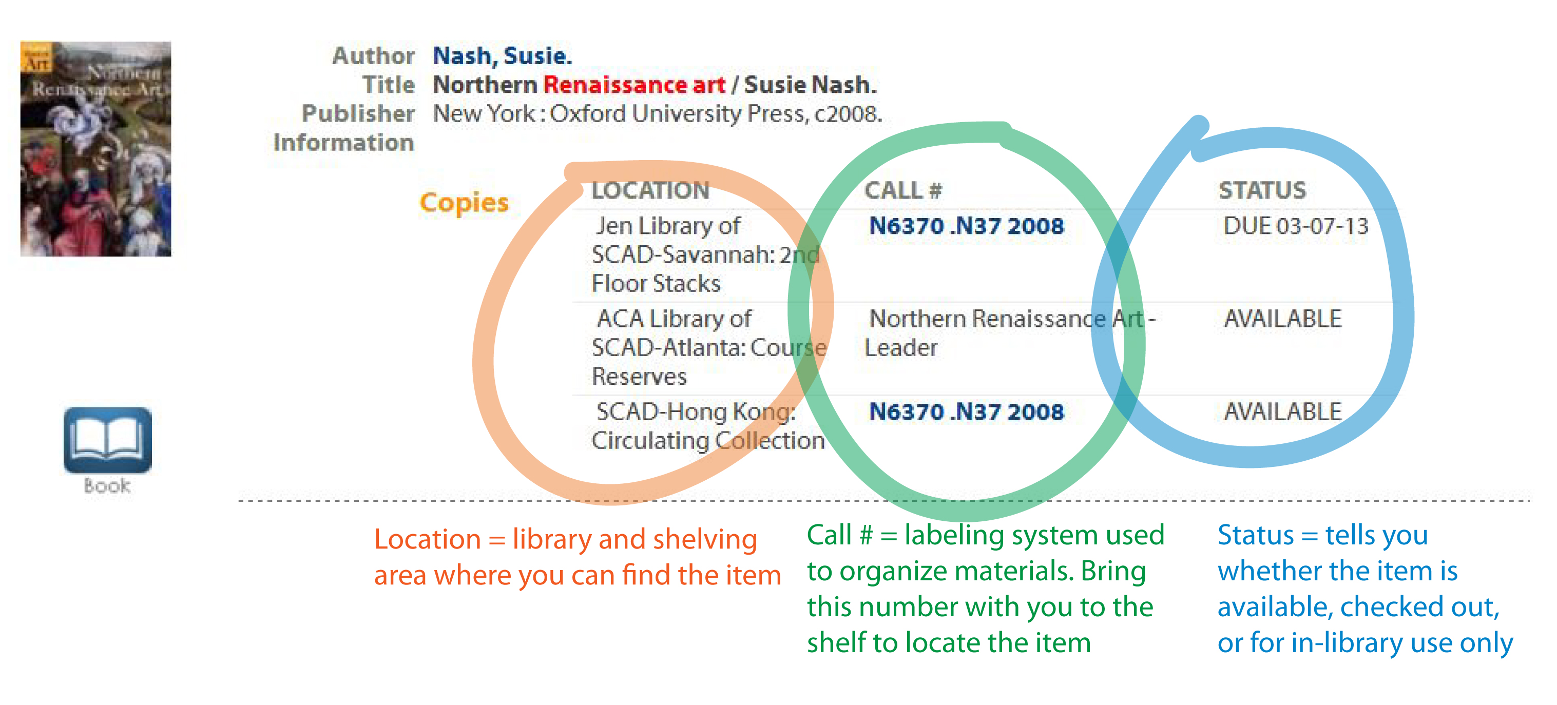 catalog record screenshot