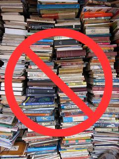 anti stack of books