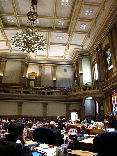 Colorado State Senate Chamber