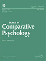 Journal of Comparative Psychology