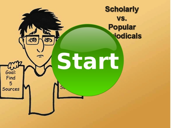 Scholarly and Popular Sources Tutorial