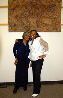 Barbara Thomas and Vivian Pitman