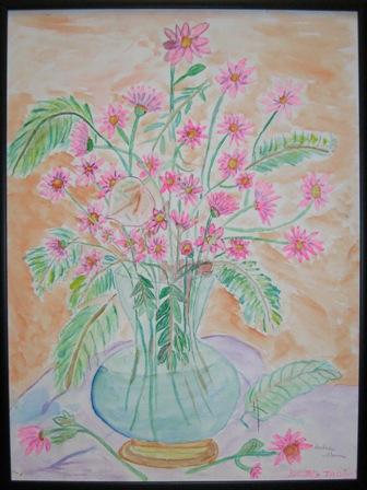 "Barbara Thomas' ""A Flower Setting"""