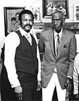 Leroy Almon Sr. and Elijah Pierce 1982