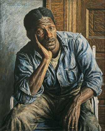 Burkhart's portrait of Roman Johnson