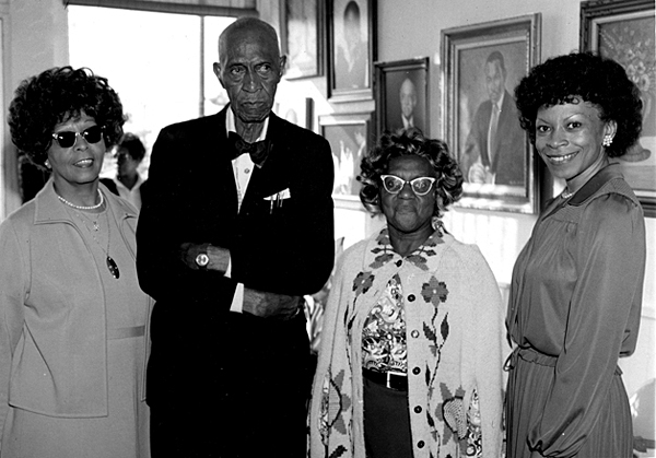 Mrs. Ursel White Lewis Mr. & Mrs. Elijah Pierce & poet Katherine Fitzgerald