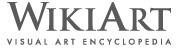 logo for WikiArt visual art encyclopedia
