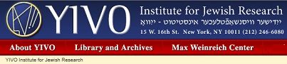 an image of YIVO Institute for Jewish Research