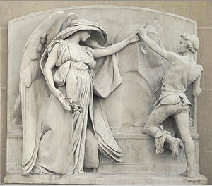 Daniel Chester French sculpture image (ARTStor)