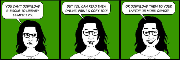 Ebooks cartoon image