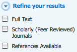 Peer Review check-box