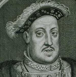 Henry VIII, William Faithorne, engraving, 17th century, Davis Museum and Cultural Center, Wellesley College, ARTstor