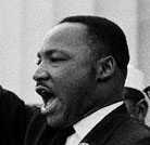 Martin Luther King, Jr. photo by Bob Adelman, August 28, 1963, Corbis