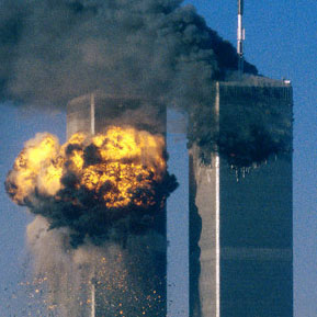 Attack on World Trade Center, New York, Sept 11 2001, Sean Adair/Reuters, Corbis