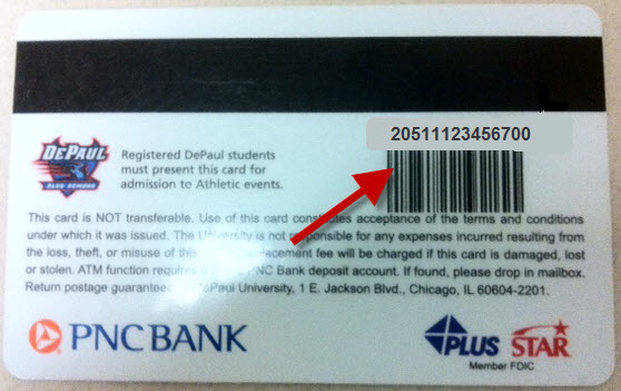 DePaul Borrower ID