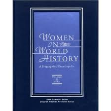 Women in World History Biographical Encyclopedia