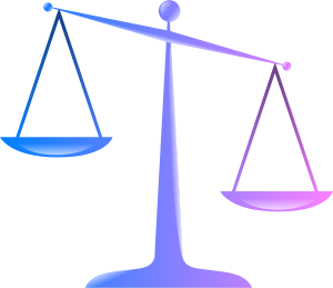 dh003i, 'Scales of Justice (Colored Glassy Effect Derivative)', Creative Commons Licence, Image Source: openclipart.org